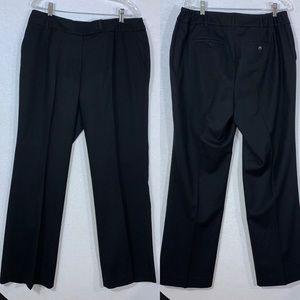 Talbots Women's dress pants Sz 14 W Plus Black